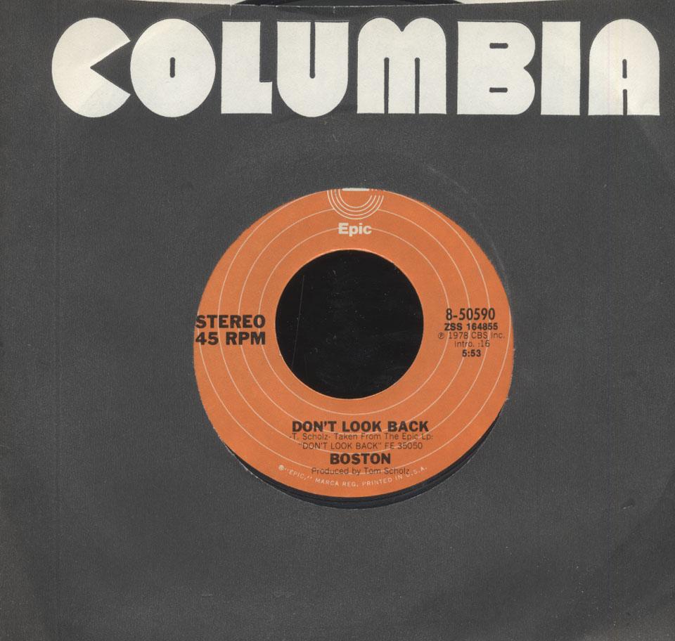 "Boston Vinyl 7"" (Used)"