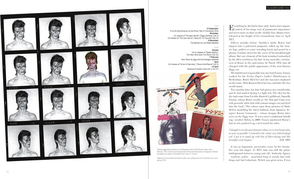 Bowie - Album by Album reverse side