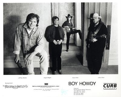 Boy Howdy Promo Print