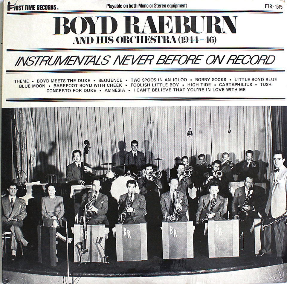 "Boyd Raeburn & His Orchestra Vinyl 12"" (New)"