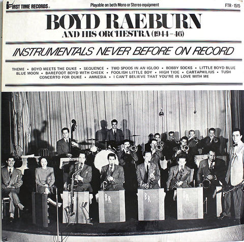 "Boyd Raeburn & His Orchestra Vinyl 12"" (New)"
