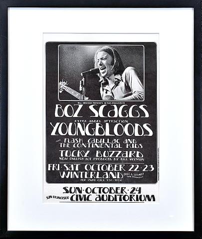 Boz Scaggs Framed Poster