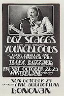 Boz Scaggs Handbill
