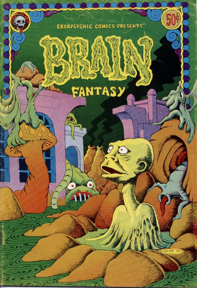 Brain Fantasy No. 1 Comic Book