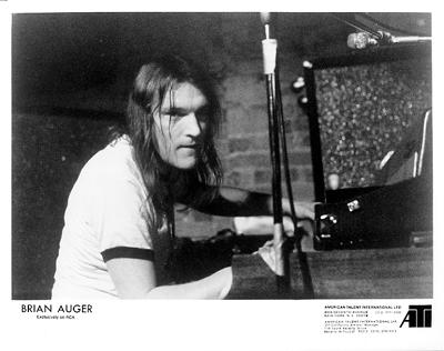 Brian Auger Promo Print