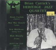 Brian Carrick's Heritage Jazz Quartet CD