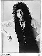 Brian May Promo Print