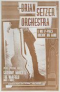 Brian Setzer Orchestra & His 17 Piece Rockin' Big Band Poster