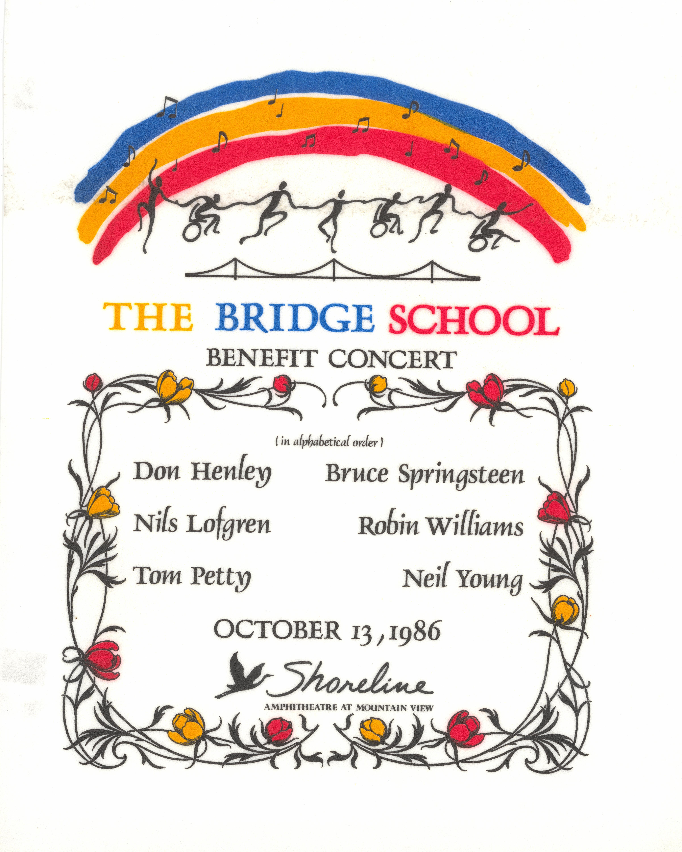 Bridge School Benefit Pelon
