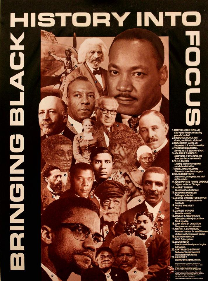 Bringing Black History Into Focus Poster
