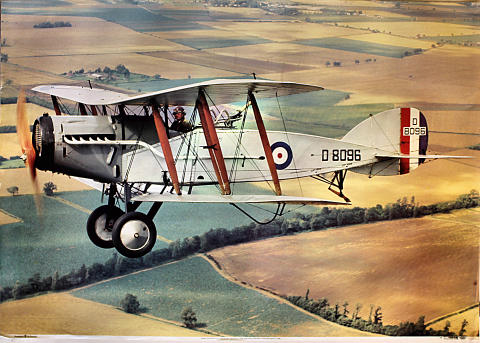 Bristol Fighter F2b Poster
