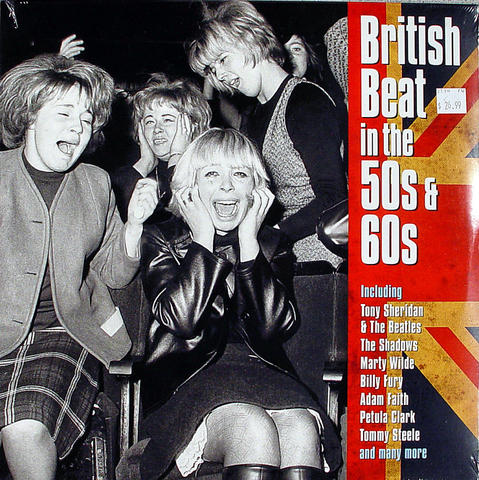 "British Beat In The 50s & 60s Vinyl 12"" (New)"