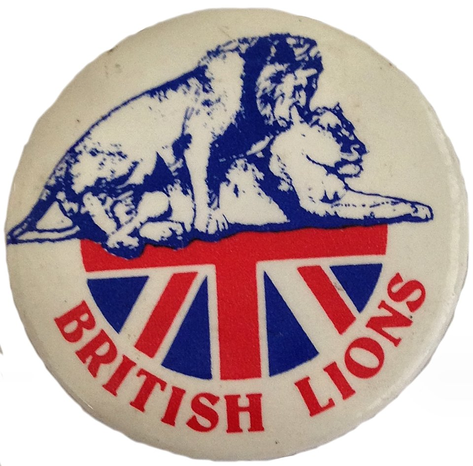 British Lions Pin