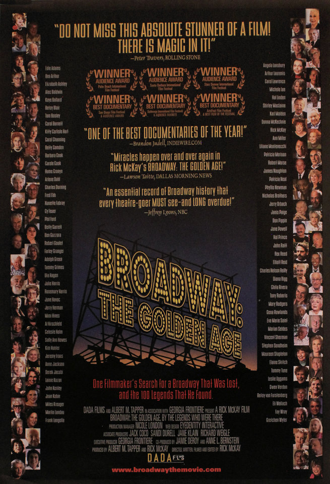 Broadway: The Golden Age Poster