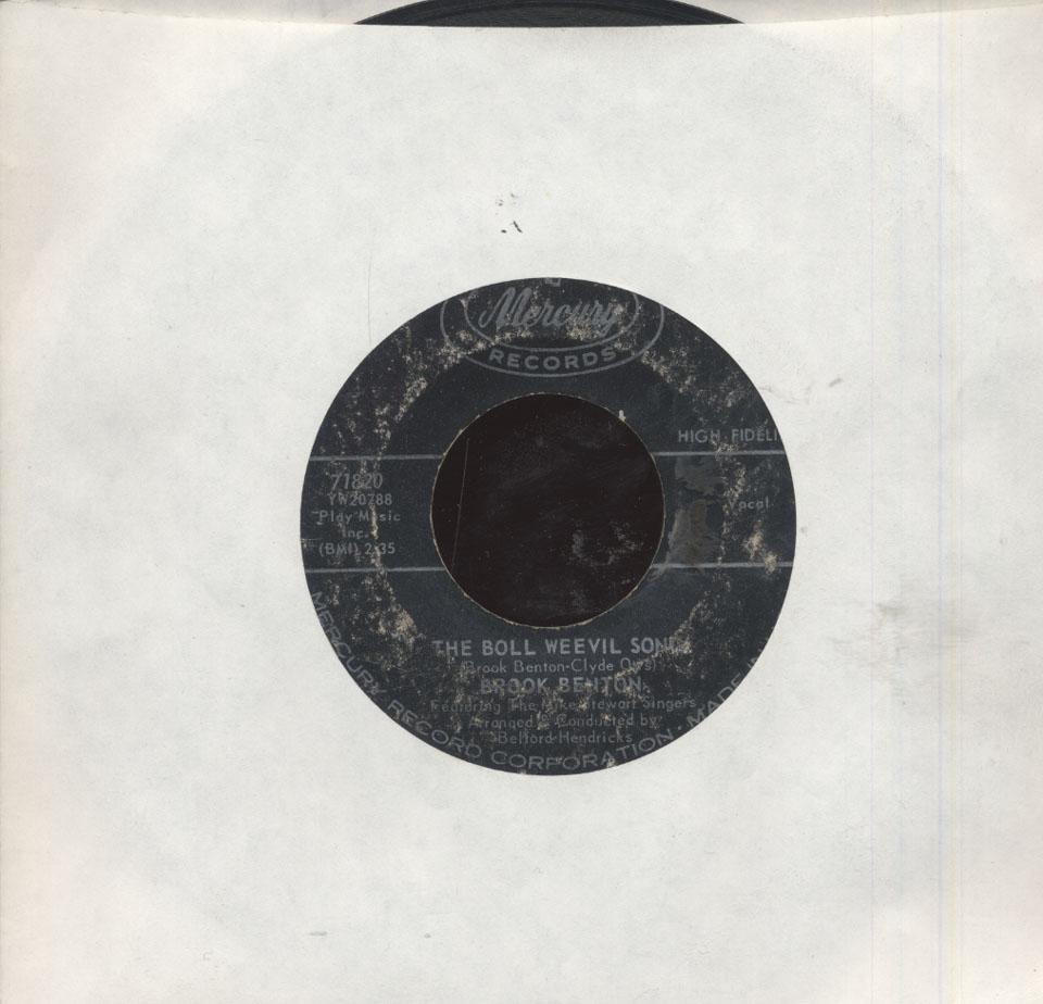 "Brook Benton Vinyl 7"" (Used)"