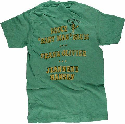 Bruce Baum Men's Vintage T-Shirt reverse side