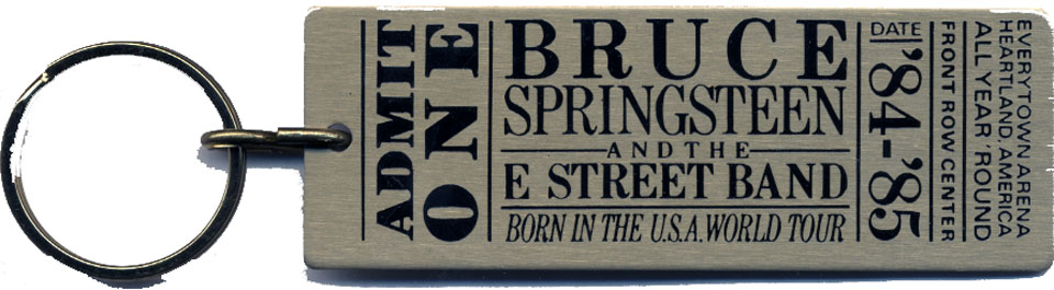 Bruce Springsteen & the E Street Band Keychain