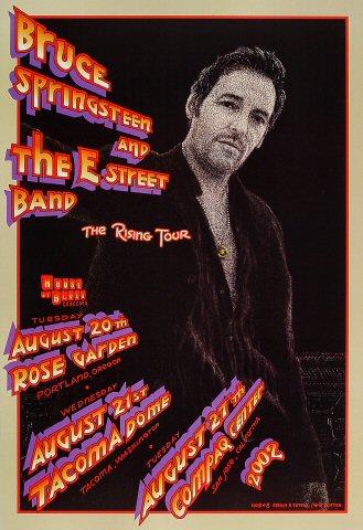 Bruce Springsteen Amp The E Street Band Vintage Concert