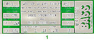 Bruce Springsteen & the E Street Band Vintage Ticket