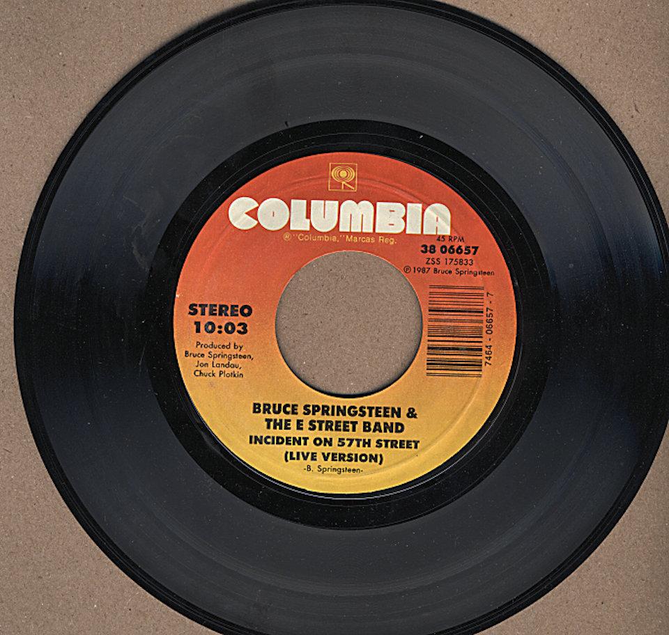 "Bruce Springsteen & the E Street Band Vinyl 7"" (Used)"