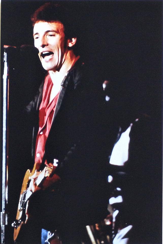 Bruce Springsteen Vintage Print