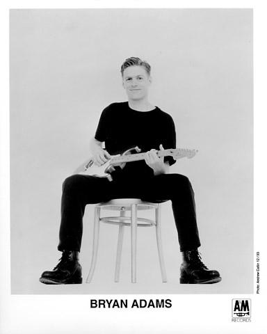Bryan Adams Promo Print