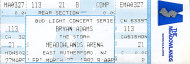 Bryan Adams Vintage Ticket