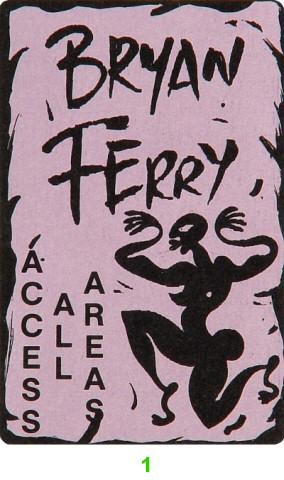 Bryan Ferry Laminate