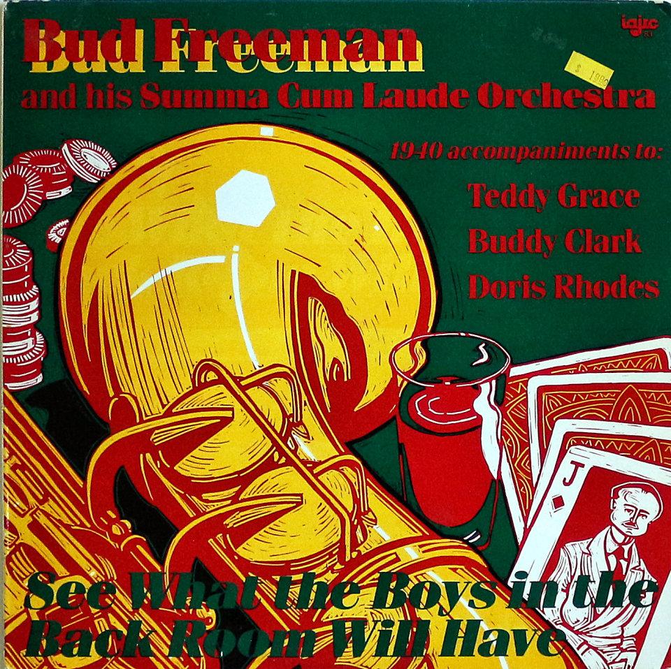 """Bud Freeman And His Summa Cum Laude Orchestra Vinyl 12"""" (New)"""