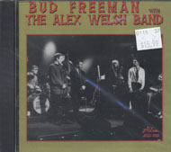 Bud Freeman With The Alex Welsh Band CD