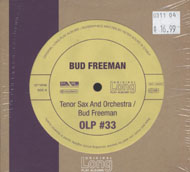 Bud Freeman CD