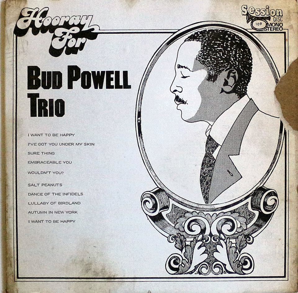 "Bud Powell Trio Vinyl 12"" (Used)"