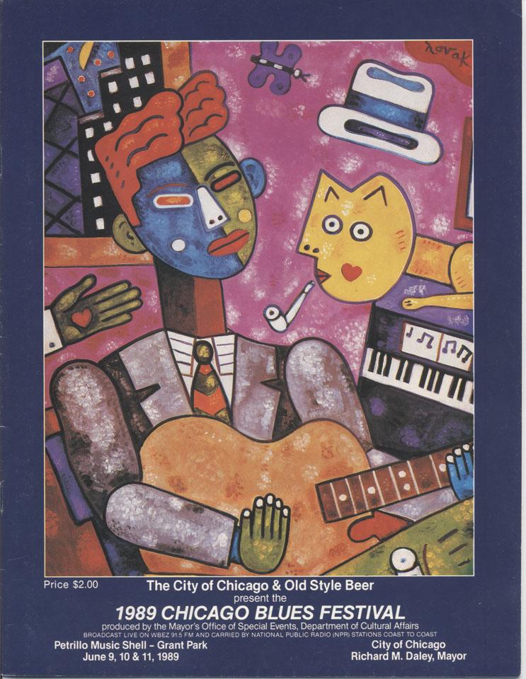 Buddy Guy & Junior Wells Blues Band Program