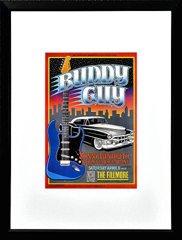 Buddy Guy Framed Poster