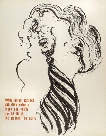 Buddy Miles Express Poster