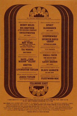 Buddy Miles Postcard