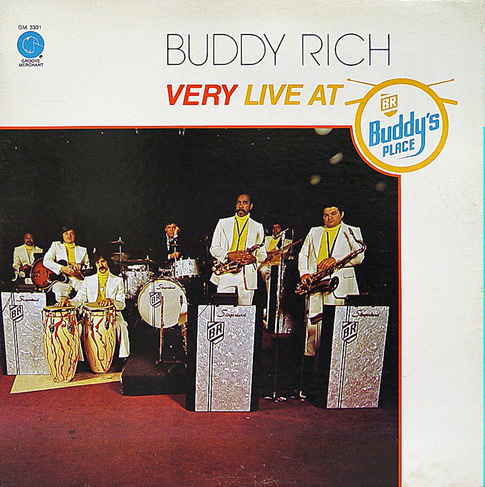 "Buddy Rich Vinyl 12"" (Used)"