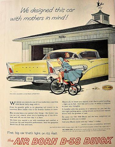 Buick B-58 Vintage Ad