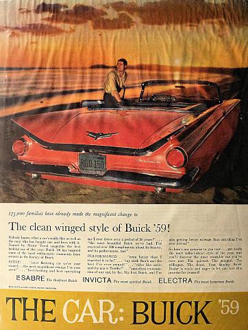 Buick: LeSabre / Invicta / Electra Vintage Ad