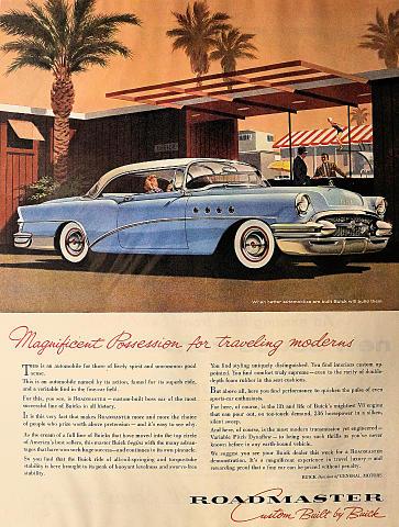 Buick Roadmaster Vintage Ad