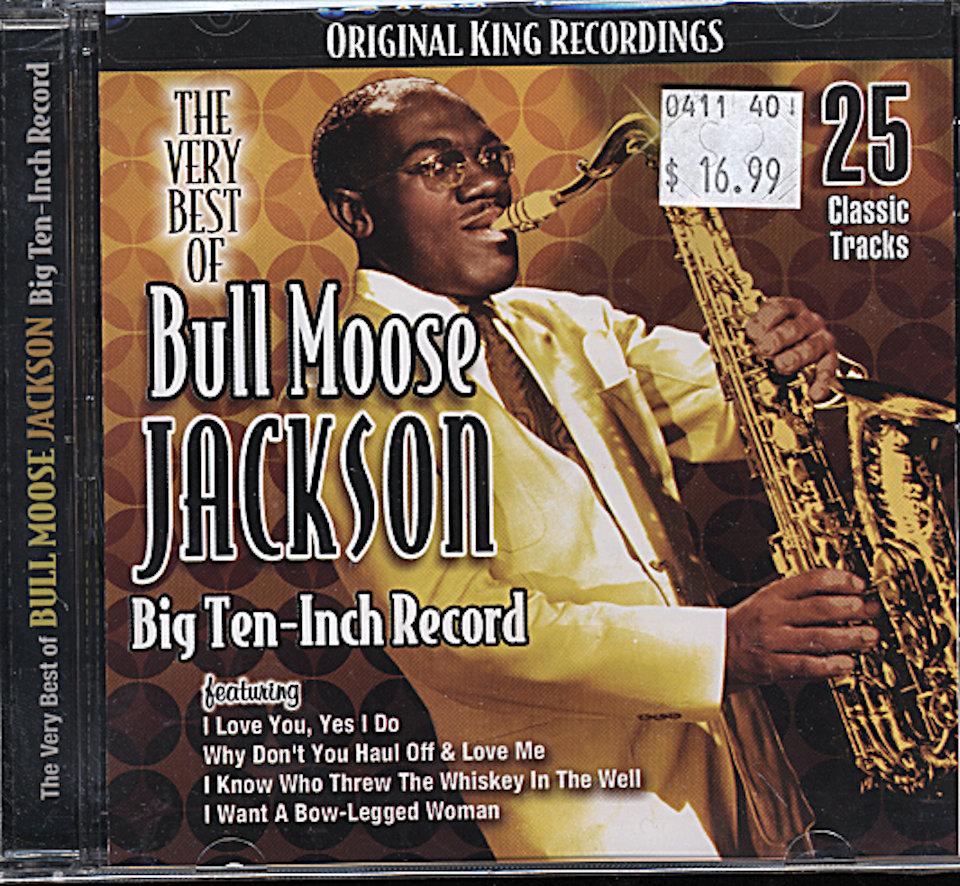 Bull Moose Jackson CD, 2009 At Wolfgang's