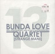 Bunda Love Quartet CD