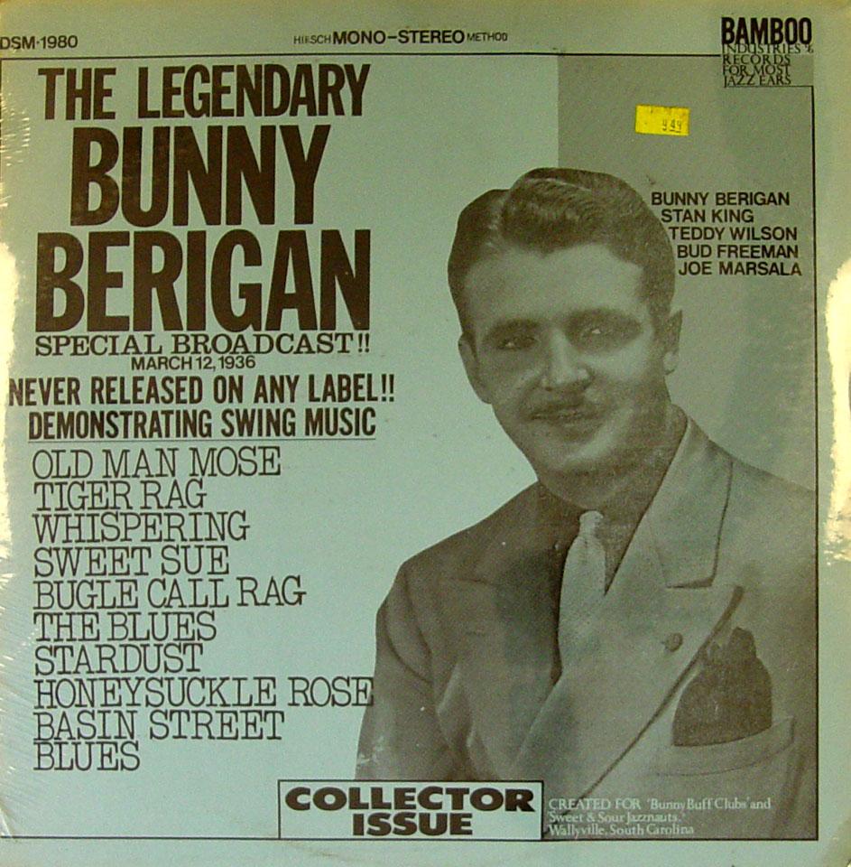 """Bunny Berigan Vinyl 12"""" (New)"""