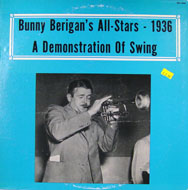 """Bunny Berigan's All Stars Vinyl 12"""" (Used)"""