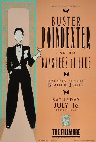 Buster Poindexter and His Banshees of Blue Poster