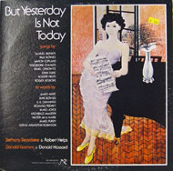 "But Yesterday Is Not Today Vinyl 12"" (Used)"