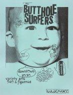 Butthole Surfers Handbill