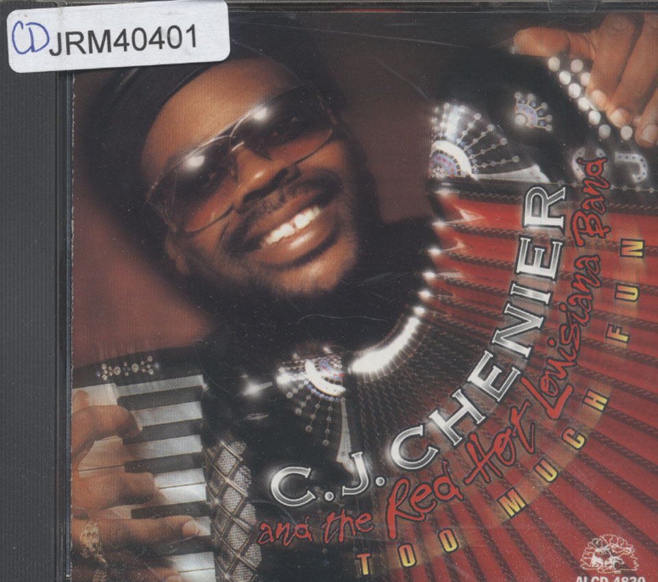 C.J. Chenier & the Red Hot Louisiana Band CD