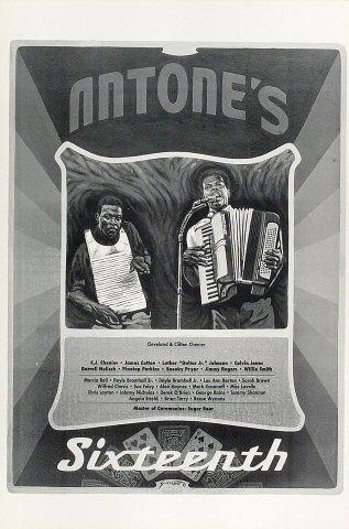 C.J. Chenier Poster