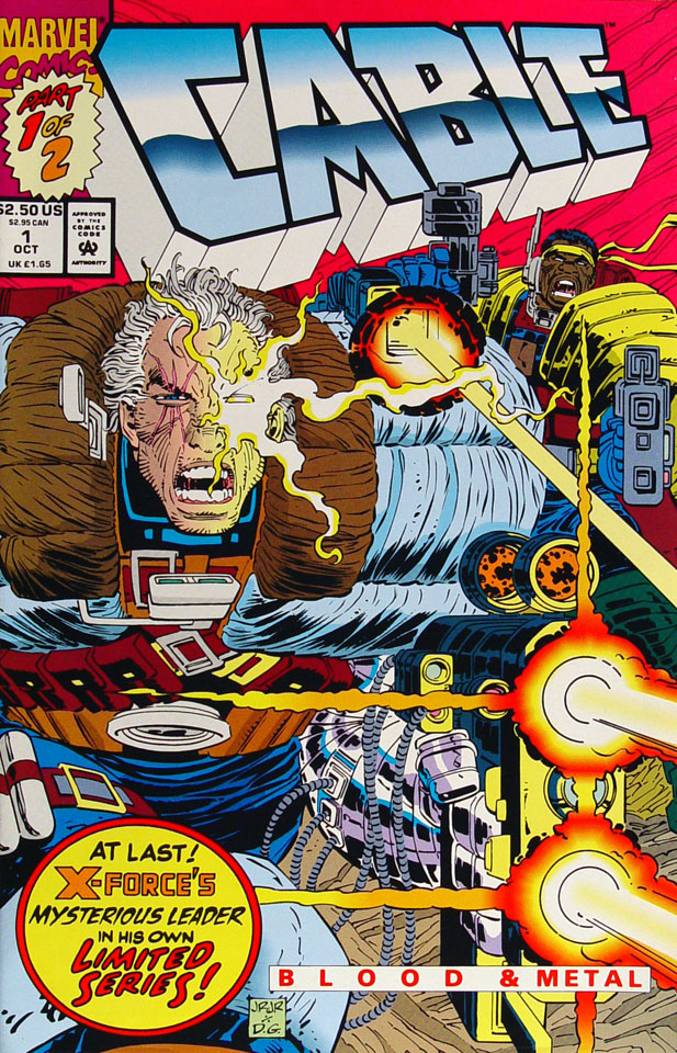 Cable - Blood & Metal Comic Book